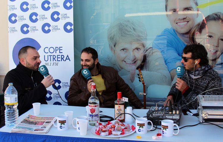 COPE Utrera lleva la magia de la radio a Clínicas Dental Siete (IMÁGENES Y AUDIO)