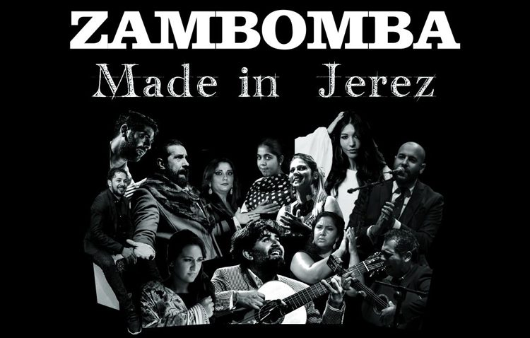 Una zambomba flamenco con aromas jerezanos en el teatro de Utrera