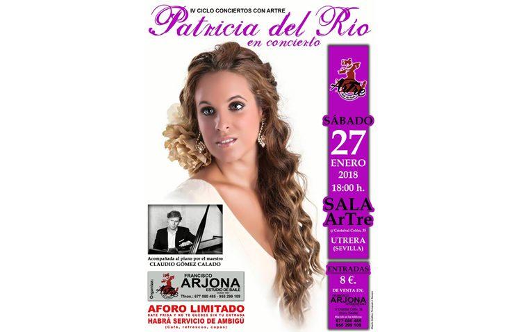 La cantante Patricia del Río llega en concierto a la sala «Artre»