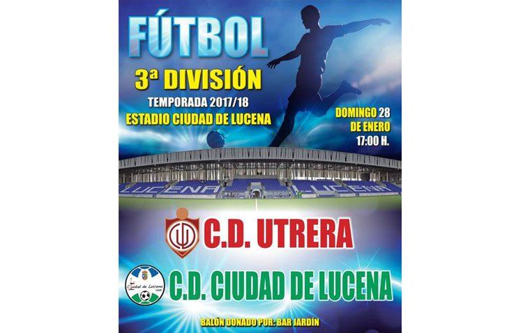 C.D. Ciudad de Lucena – C.D. Utrera: Una jornada más, un paso más