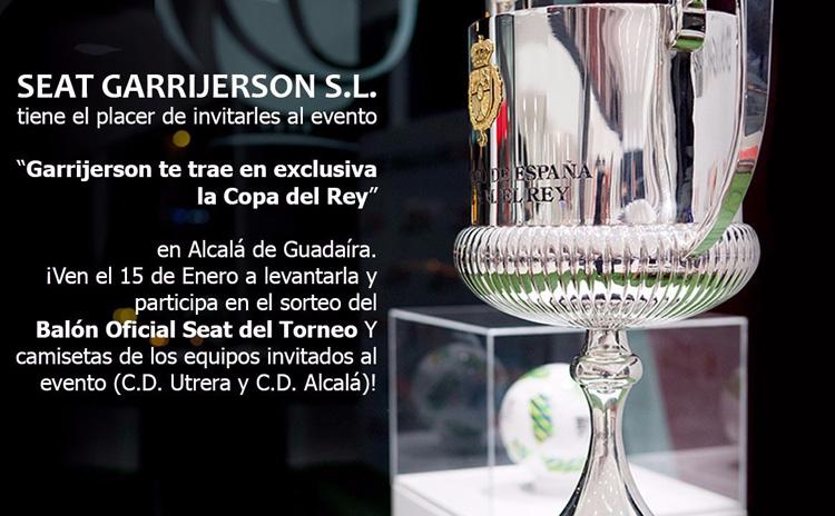 La Copa del Rey llega a Alcalá de Guadaíra con la presencia del Club Deportivo Utrera