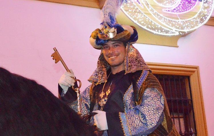 El Heraldo Real ya tiene la llave de la ciudad de Utrera (IMÁGENES)