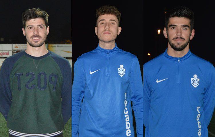 Tres canteranos que sueñan con triunfar en el primer equipo del Club Deportivo Utrera