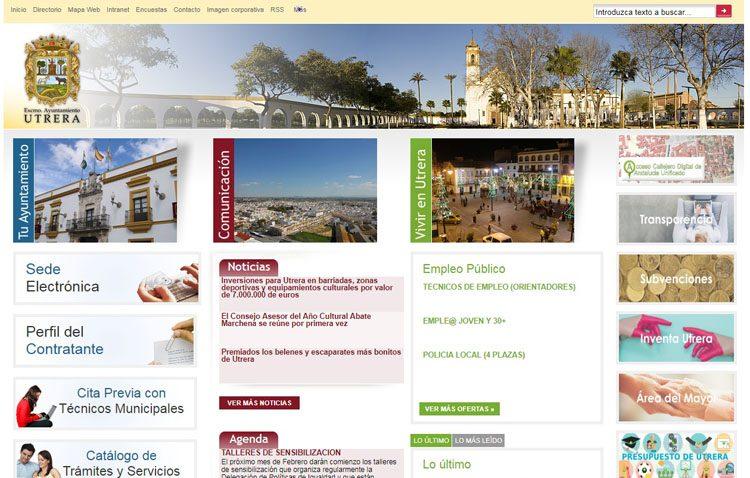 El Ayuntamiento de Utrera renovará su página web municipal