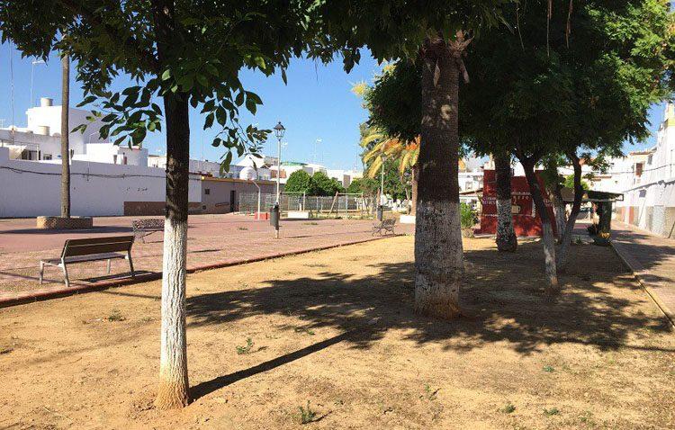 Comienzan por fin las obras de reforma del parque Buena Sombra