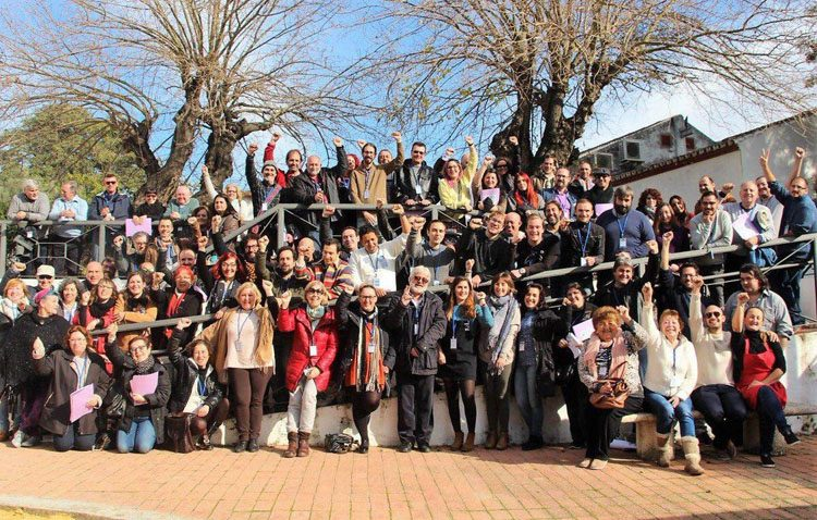 Podemos-Utrera participa en un encuentro regional para construir una «marea municipalista» de cara a los comicios locales