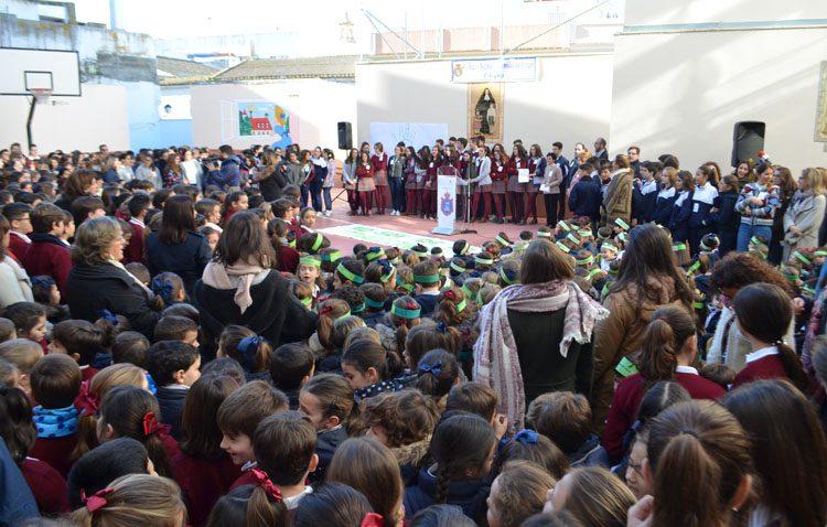 El colegio Sagrada Familia celebra la fiesta de Ana María Janer
