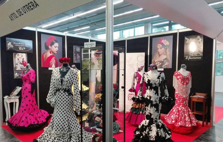 La moda flamenca utrerana, presente un año más en Simof