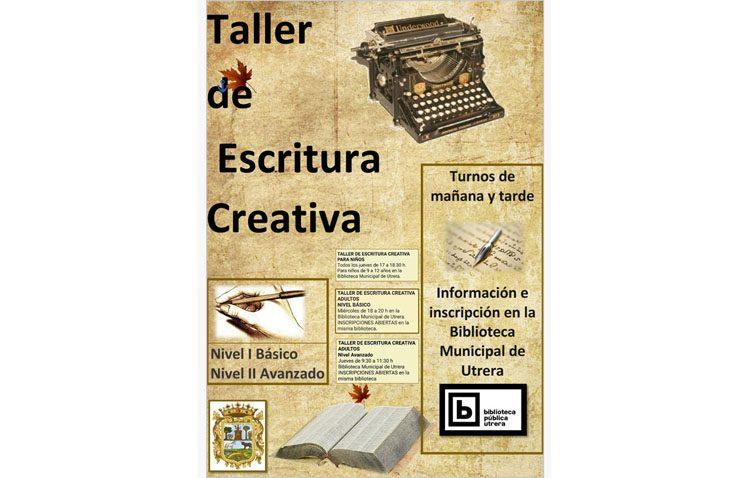 Taller de escritura creativa en la biblioteca de Utrera