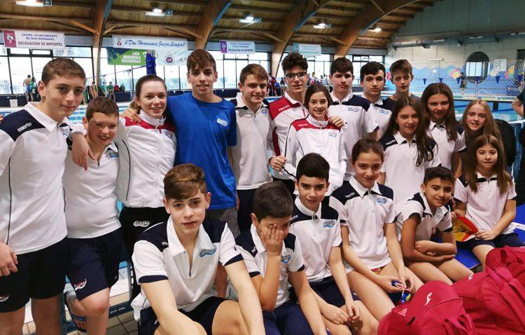 El Club Natación Utrera consigue un total de diez medallas en el trofeo Ciudad de Dos Hermanas