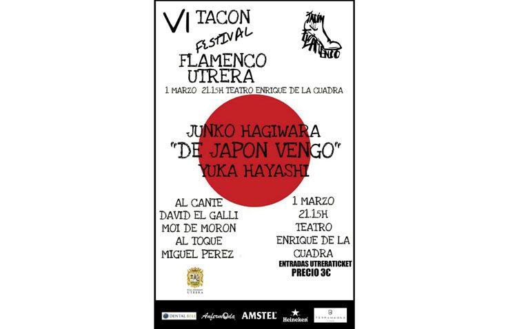 Dos bailaoras japonesas, protagonistas este jueves en el «Tacón Flamenco»