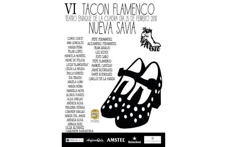 Un espectáculo de baile a cargo de niño abre la sexta edición del «Tacón Flamenco»