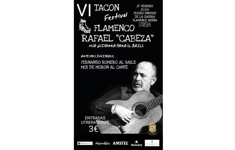 «Una guitarra para el baile», cita para este martes en el «Tacón Flamenco»