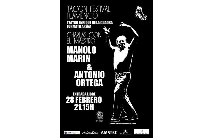 El «Tacón Flamenco» plantea una charla muy especial con el coreógrafo Manolo Marín en este festivo 28 de diciembre