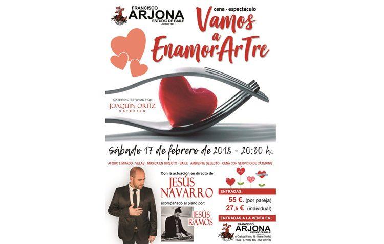 Cena-espectáculo en la sala «Artre» por el Día de los Enamorados