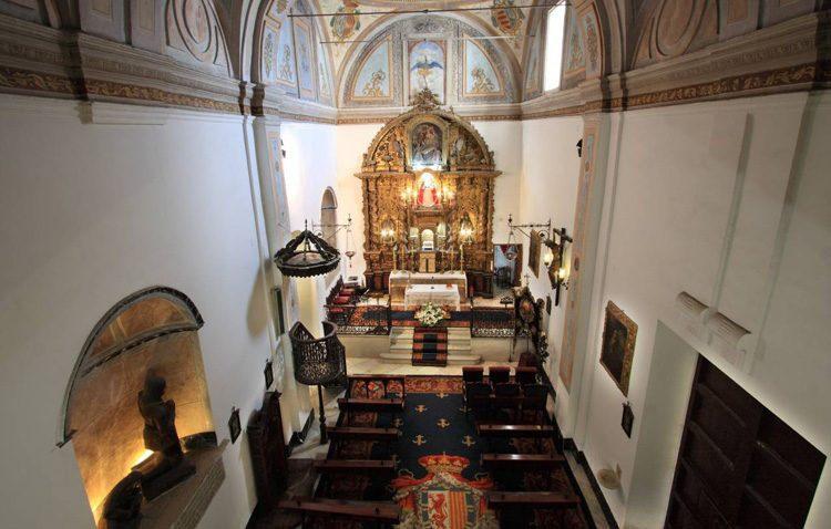 Presentación del cartel de Semana Santa de Utrera en el «Hospitalito»
