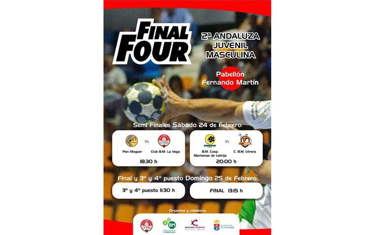 El Club Balonmano Utrera disputa la Final Four de la Segunda División Andaluza Juvenil Masculina