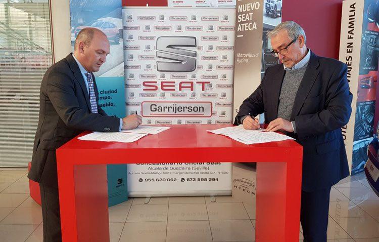 Seat Garrijerson, nuevo patrocinador oficial del Club Deportivo Utrera
