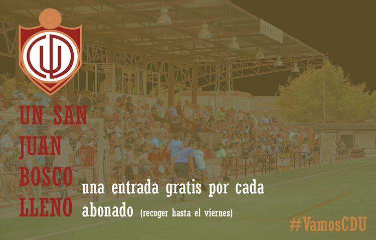 Entradas gratuitas para apoyar al C.D. Utrera ante el Atlético Sanluqueño