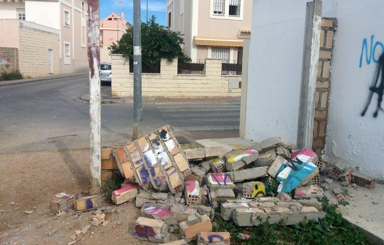 Basura + escombros… Ratas