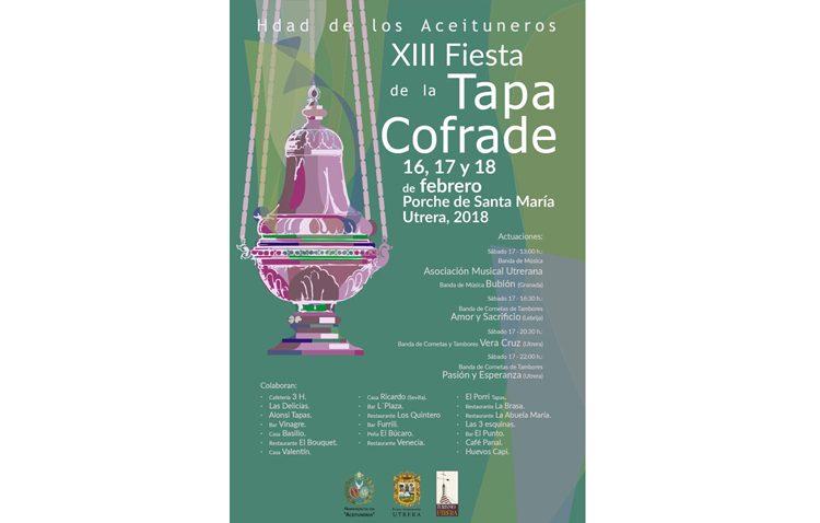 La hermandad de los Aceituneros organiza su XIII Fiesta de la Tapa Cofrade