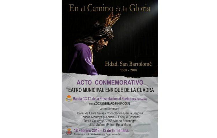 Todo listo para el espectáculo flamenco-cofrade por el 450º aniversario de la hermandad de Jesús Nazareno