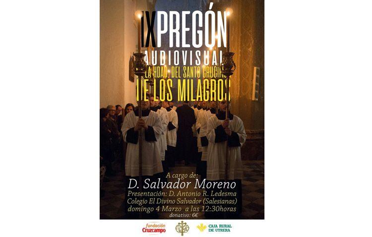La hermandad de los Milagros organiza su pregón audiovisual de la Semana Santa de Utrera
