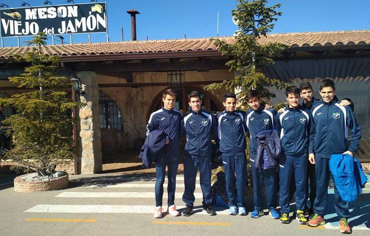 El Club Utrerano de Atletismo cierra la temporada de campo a través con su participación en el campeonato nacional
