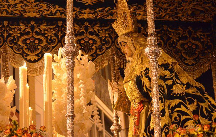 La hermandad de los Gitanos recupera a la banda «Ciudad de Utrera» para acompañar a la Virgen de la Esperanza