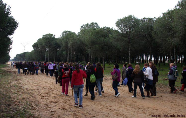 El aplazado camino de mujeres de la hermandad del Rocío llega este sábado