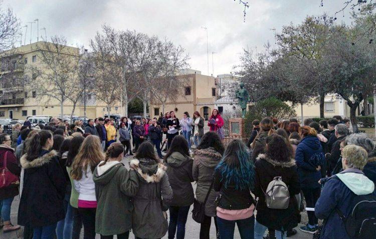 Podemos muestra su «orgullo» por el movimiento feminista vivido en Utrera el 8-M