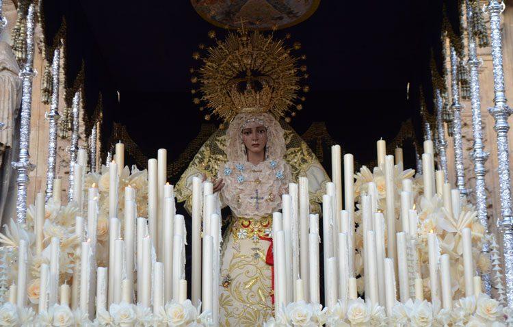 La Virgen de los Ángeles saldrá en Utrera con su paso de palio en procesión extraordinaria el 20 de noviembre