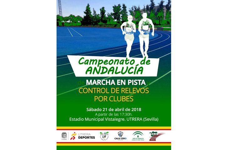 Vistalegre acoge el campeonato de Andalucía de marcha y relevos de atletismo