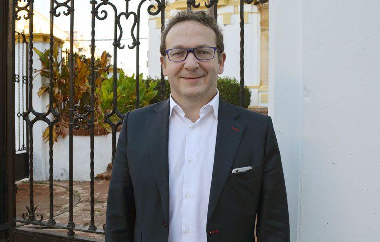 Alejandro Jos, un utrerano de adopción que es director de estrategia de una empresa con sede en catorce países