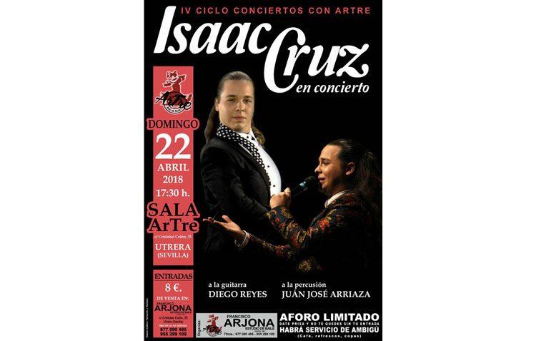 Los «Conciertos con Artre» reciben a Isaac Cruz, del programa «Yo soy del sur»