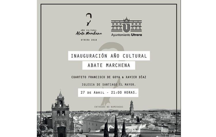 Concierto del cuarteto Francisco de Goya en la parroquia de Santiago