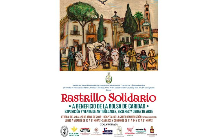 El «Rastrillo Solidario» de la hermandad del Silencio abre sus puertas este viernes