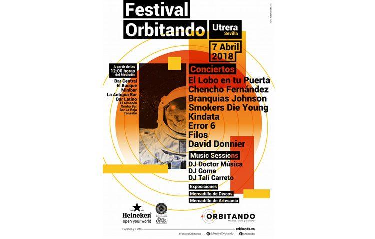 Música, exposiciones y mercadillos, este sábado en Utrera con el festival «Orbitando»