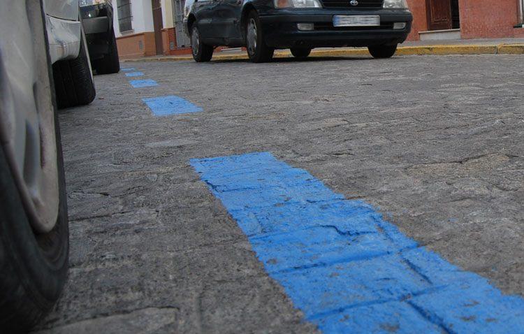 La zona azul seguirá suspendida en Utrera
