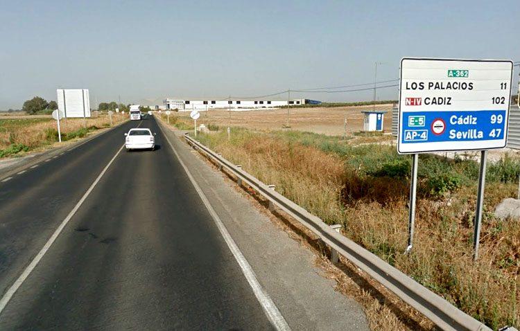 Reclaman que el nuevo gobierno de la Junta desempolve el proyecto de desdoble de la carretera Utrera-Los Palacios