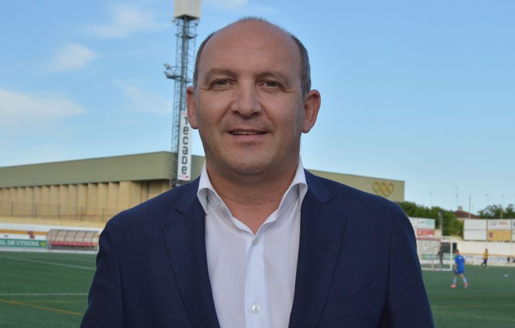 Antonio Camino oficializa su candidatura para seguir al frente del Club Deportivo Utrera