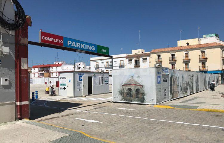 Horarios y tarifas especiales en el aparcamiento del antiguo Champion durante la Semana Santa