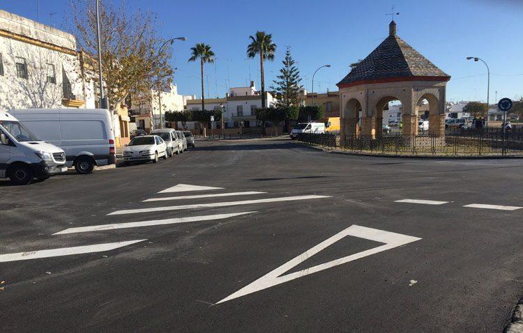 El pleno municipal aprueba el asfaltado de varias calles de Utrera con cargo al plan «Supera» de la Diputación