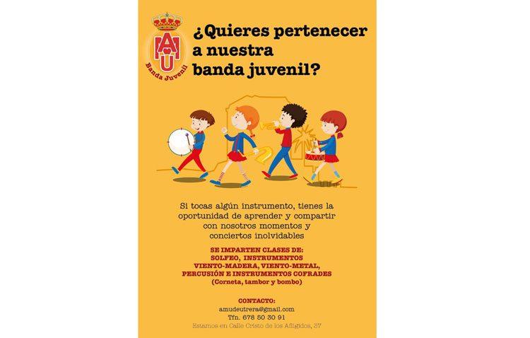 La Asociación Musical Utrerana anuncia la creación de una banda juvenil