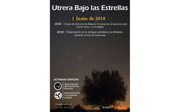 Una jornada astronómica para descubrir los secretos nocturnos del firmamento