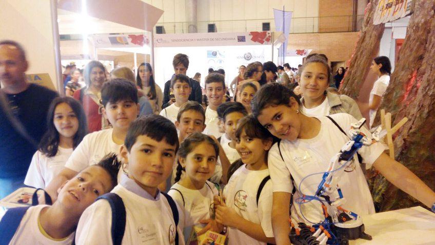 El colegio Coca de la Piñera participa en la Feria de la Ciencia celebrada en Sevilla