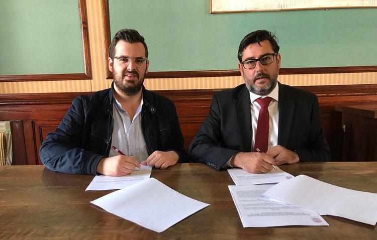 Aldaba y el Centro de Educación Permanente renuevan sus convenios anuales con el Ayuntamiento