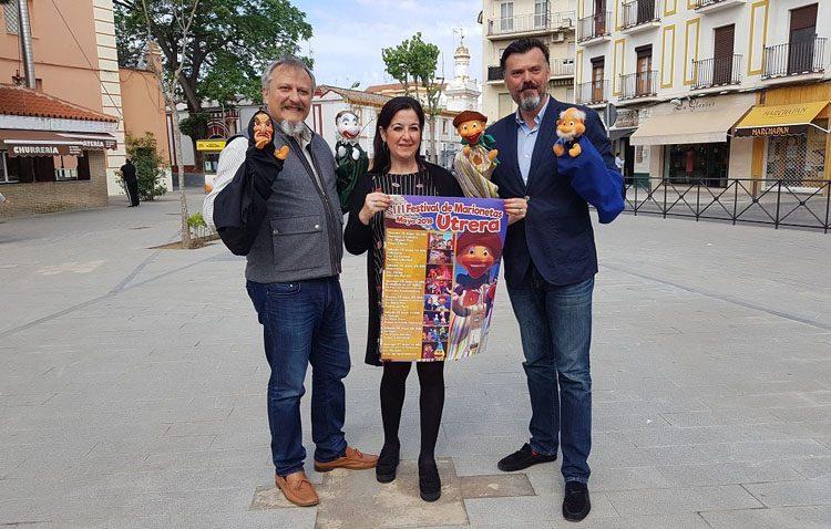 El Festival de Marionetas propondrá ocho citas teatrales callejeras para los más pequeños de Utrera