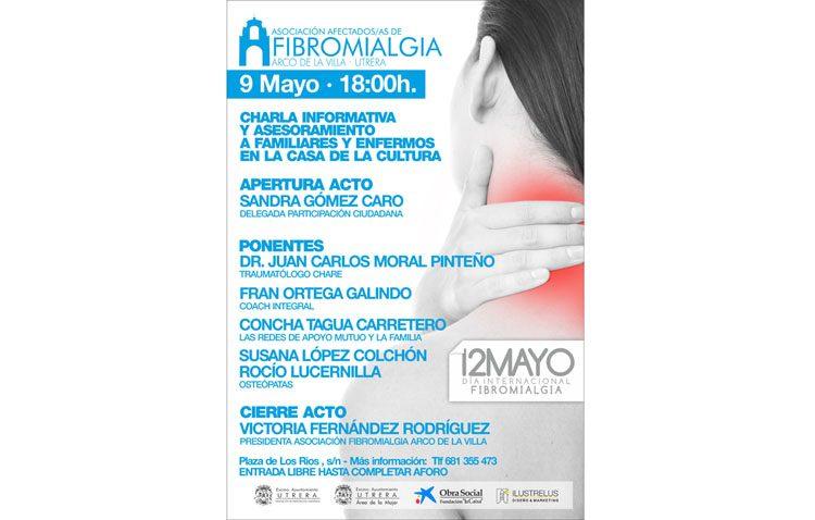 Una charla informativa para conmemorar el Día Internacional de la Fibromialgia
