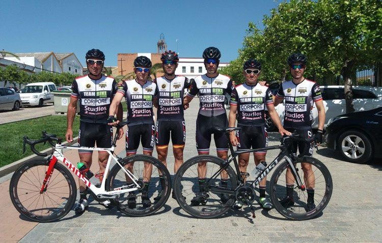 El equipo ciclista Teambike suma tres podios en Huelva